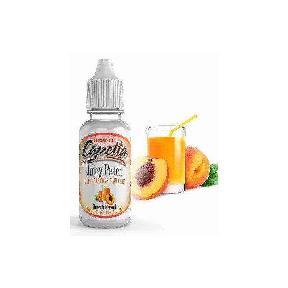 Capella Aroma Juicy Peach (13 ml) (Pfirsich)
