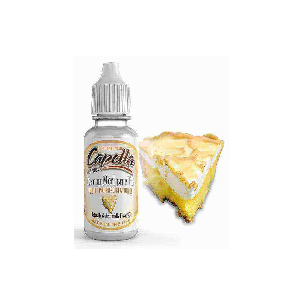 Capella Aroma Lemon Meringue Pie (13 ml) (Zitronen-Baiser-Kuchen)
