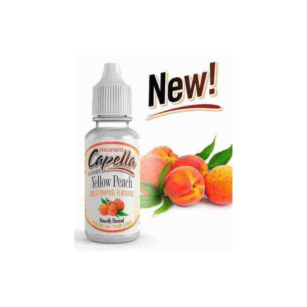 Capella Aroma Yellow Peach (13 ml) (Gelber Pfirsich)