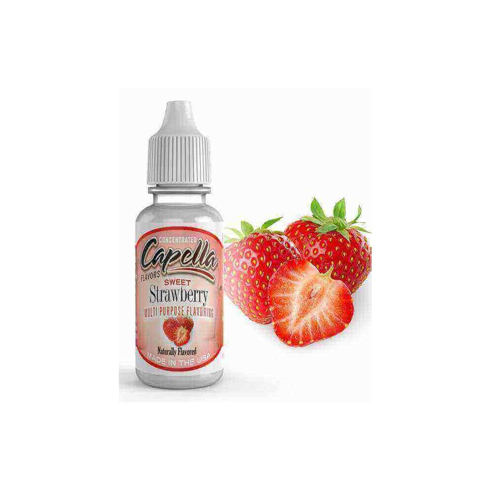 Capella Aroma Sweet Strawberry RF (13 ml) (Erdbeere)