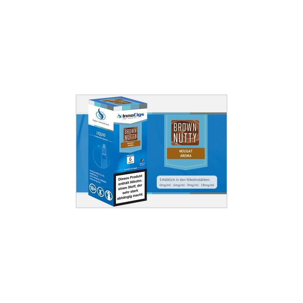 InnoCigs E-Liquid Brown Nutty (Nougat)