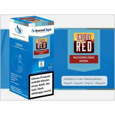 InnoCigs E-Liquid Inside Red (Wassermelone)