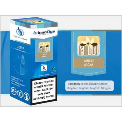 InnoCigs E-Liquid Milli Vanille (Vanille)