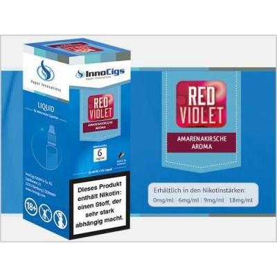 InnoCigs E-Liquid Red Violet (Amarenakirsche)