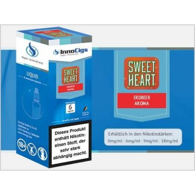 InnoCigs E-Liquid Sweetheart (Erdbeere)