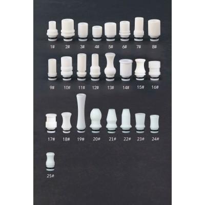Teflon White Series Drip Tip