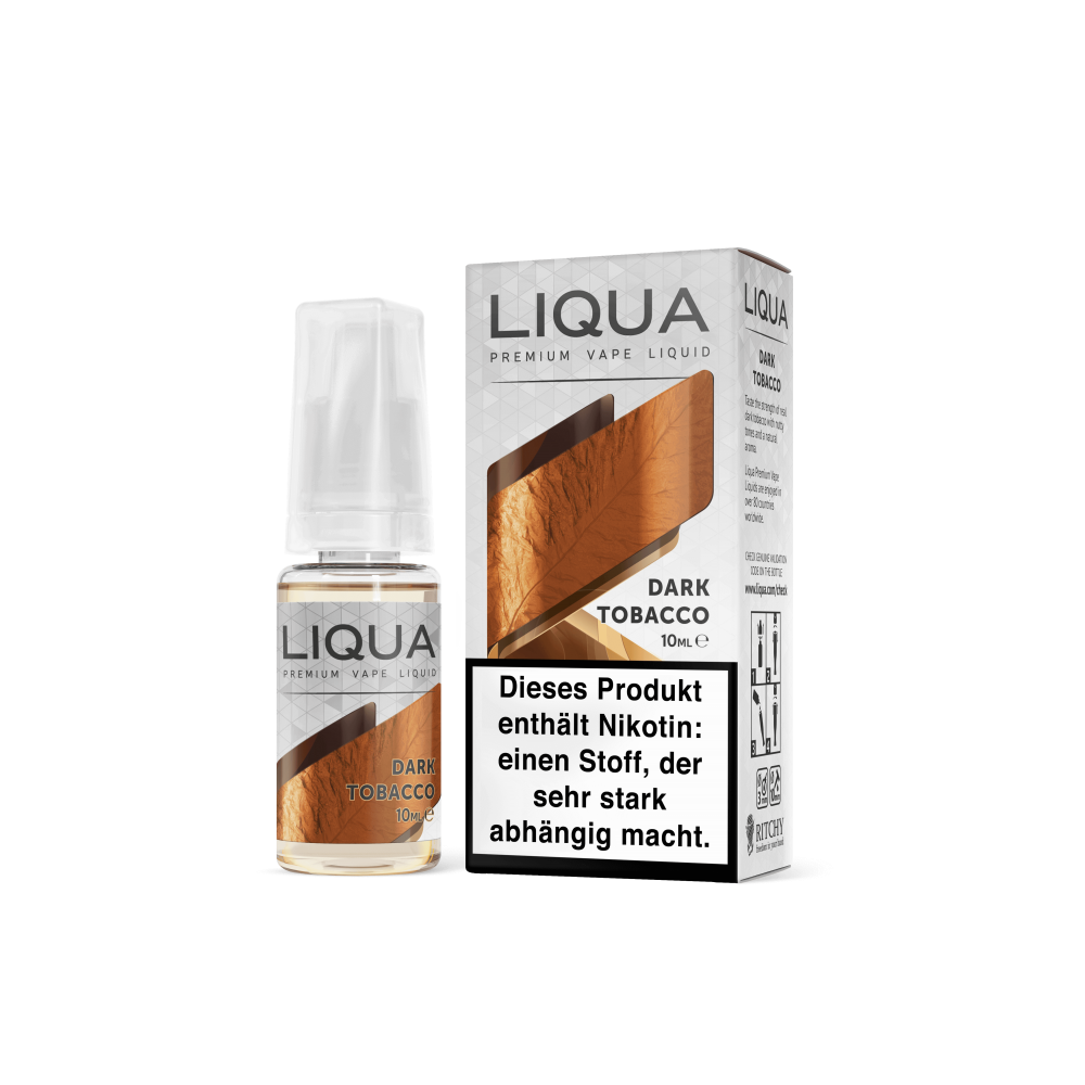 LIQUA™ Elements Liquid Dark Tobacco (Dunkler Tabak)