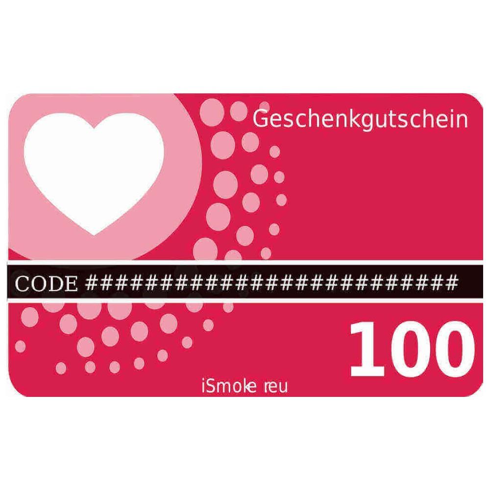 100,- Euro iSmoker Geschenkgutschein