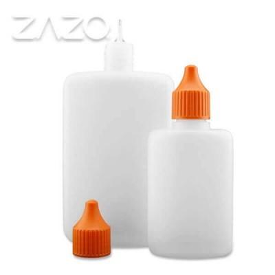 ZAZO Liquid Dropper Flasche, flach (125 ml)