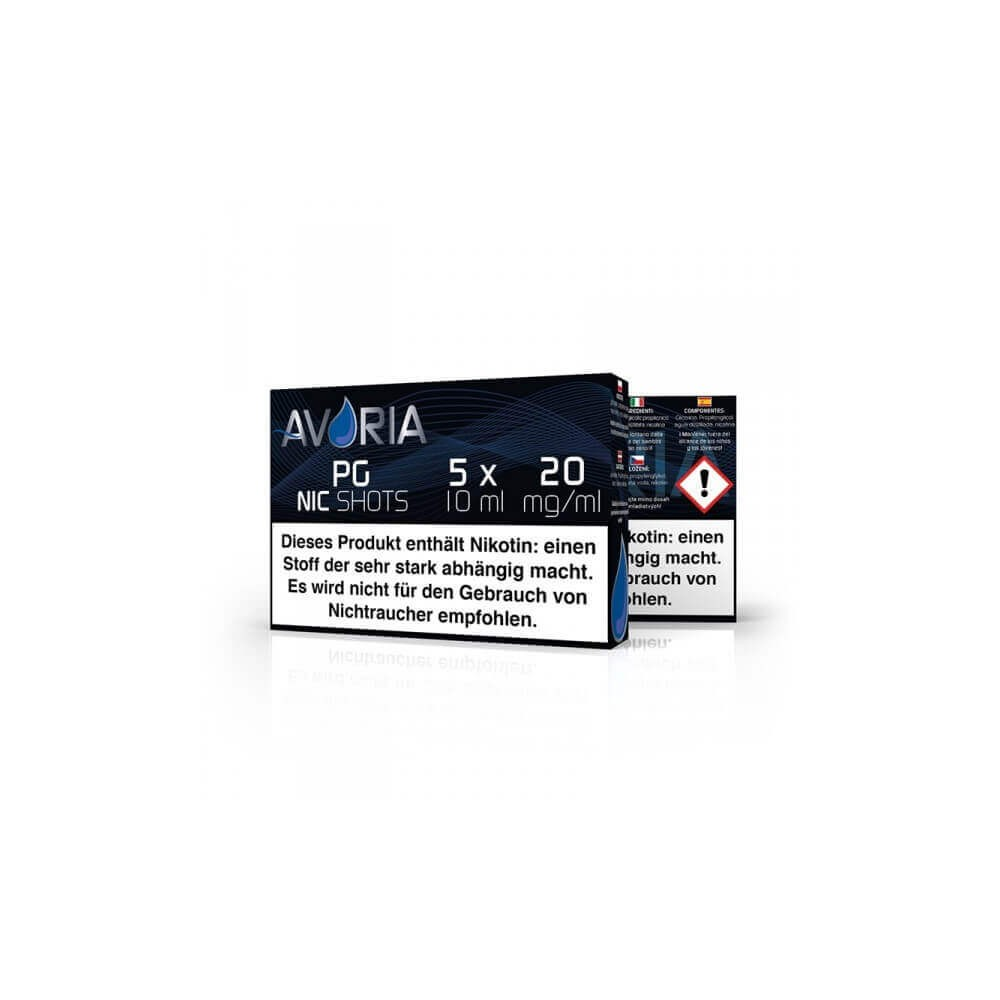 Avoria Nikotin-Shot PG 5 x 10 ml (20 mg/ml)