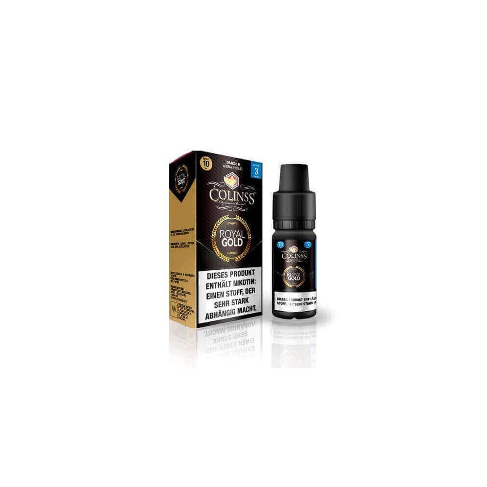 Colinss E-Liquid Royal Gold Tobacco (PG) (kräftiger, süßlicher
