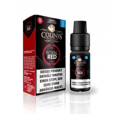 Colinss E-Liquid Royal Red Tobacco (PG) (klassischer American