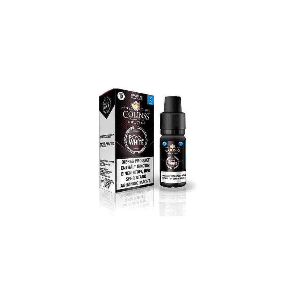 Colinss E-Liquid Royal White Tobacco (PG) (milder Tabak)