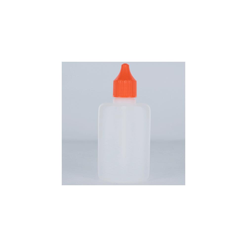 ZAZO Liquid Dropper Flasche, flach (50 ml)
