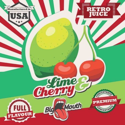 Big Mouth Aroma Lime and Cherry (10 ml)