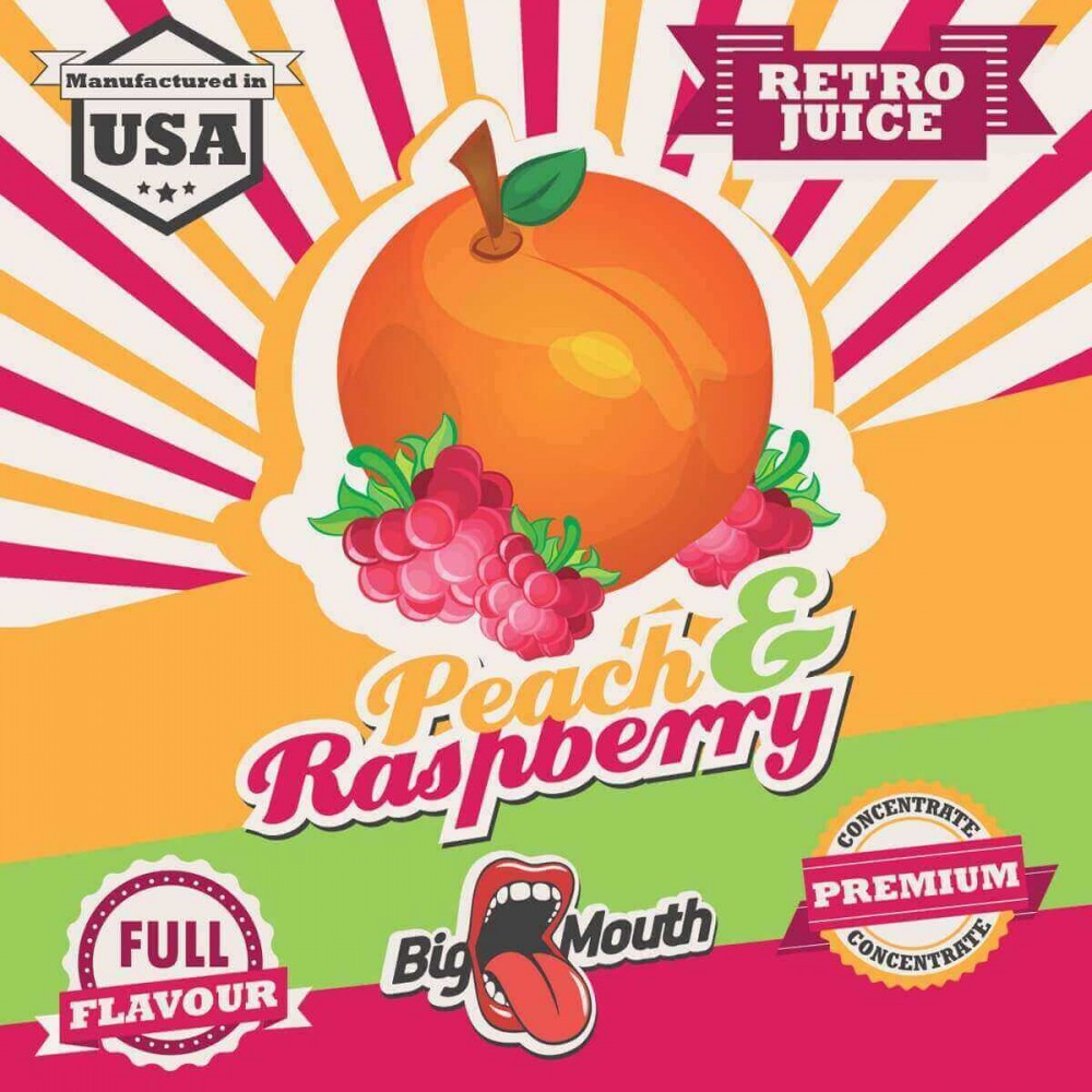 Big Mouth Aroma Peach and Raspberry (10 ml)
