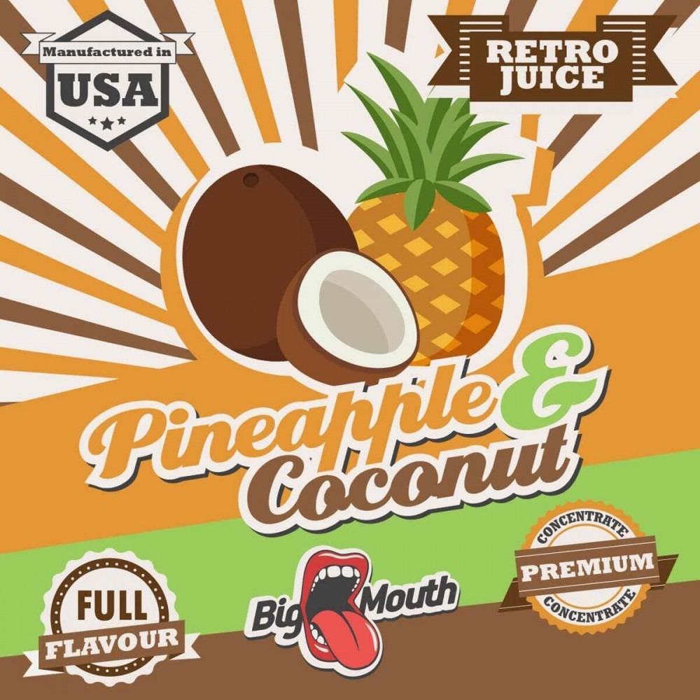 Big Mouth Aroma Pineapple and Coconut (10 ml)