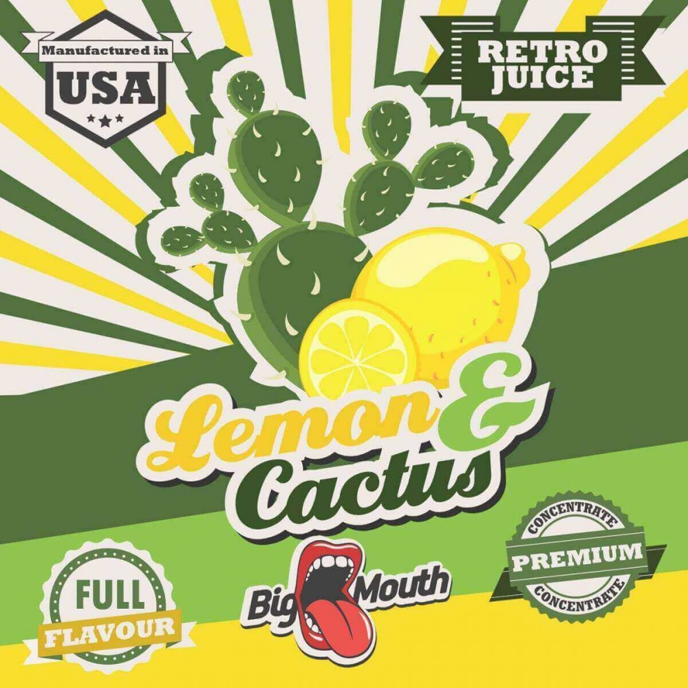 Big Mouth Aroma Lemon and Cactus (10 ml)