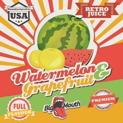 Big Mouth Aroma Watermelon and Grapefruit (10 ml)