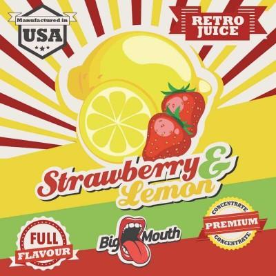 Big Mouth Aroma Strawberry and Lemon (10 ml)