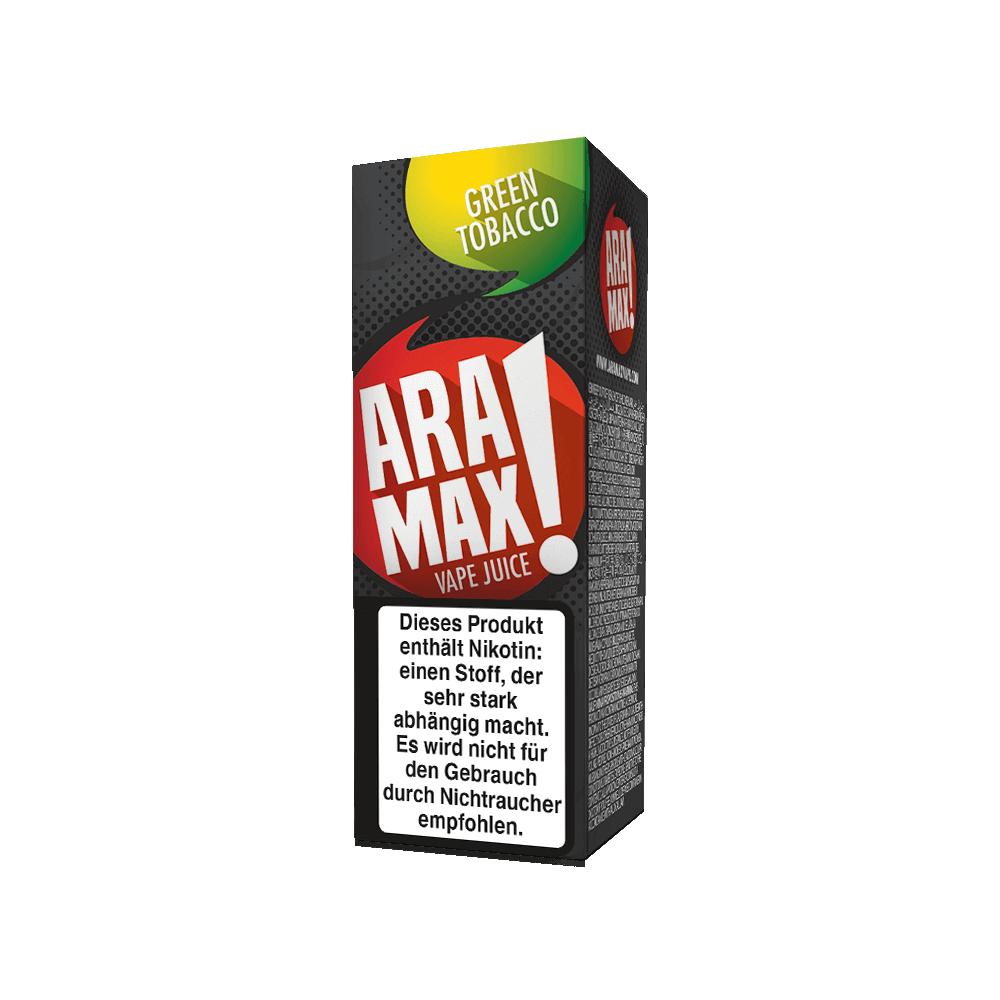 Aramax Liquid Green Tobacco (10 ml)