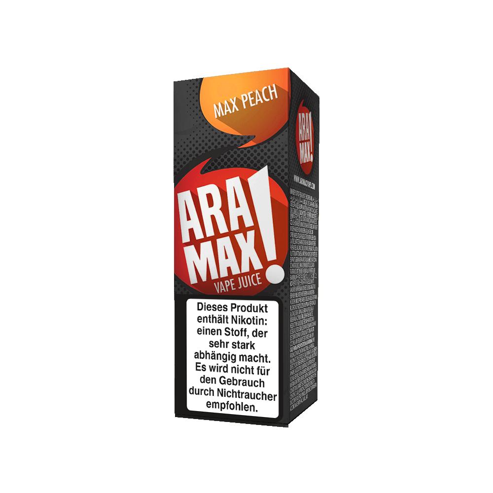 Aramax Liquid Max Peach (10 ml)