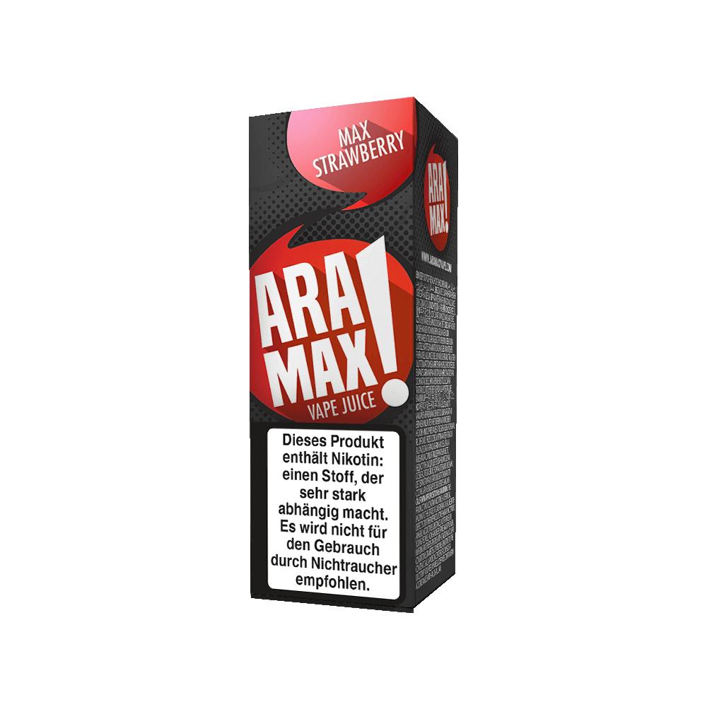 Aramax Liquid Max Strawberry (10 ml)