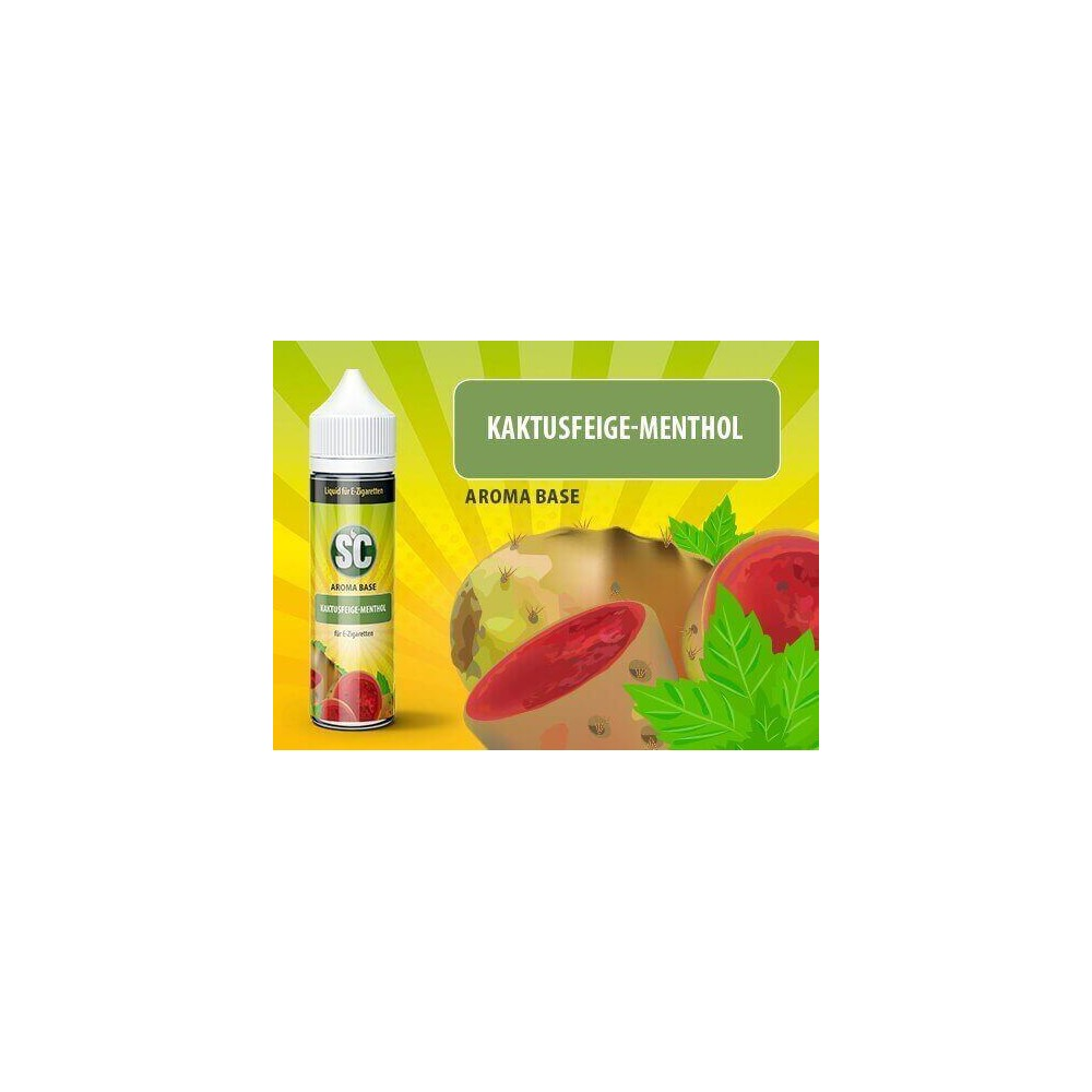 SC Vape Base - Kaktusfeige-Menthol Liquid (50 ml)