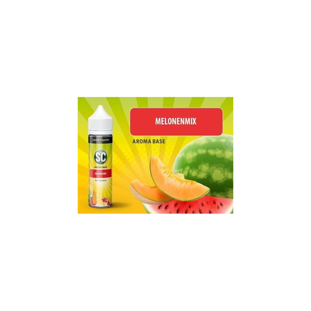 SC Vape Base - Melonenmix Liquid (50 ml)