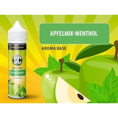 SC Vape Base - Apfelmix-Menthol Liquid (50 ml)