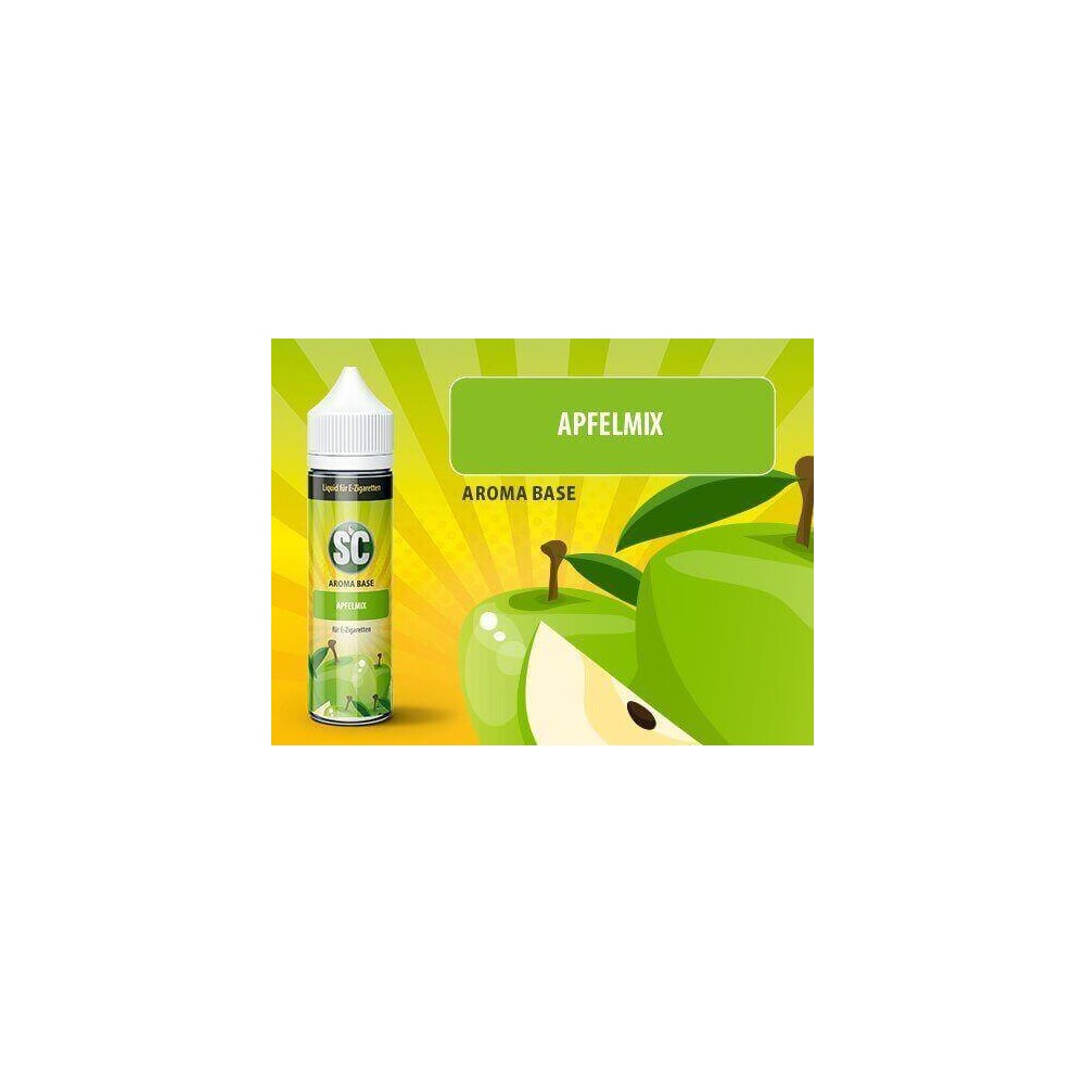 SC Vape Base - Apfelmix Liquid (50 ml)