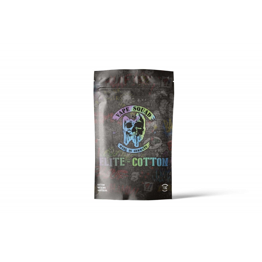 Vape Squad Elite Cotton (Baumwollwatte, 10 Gramm)