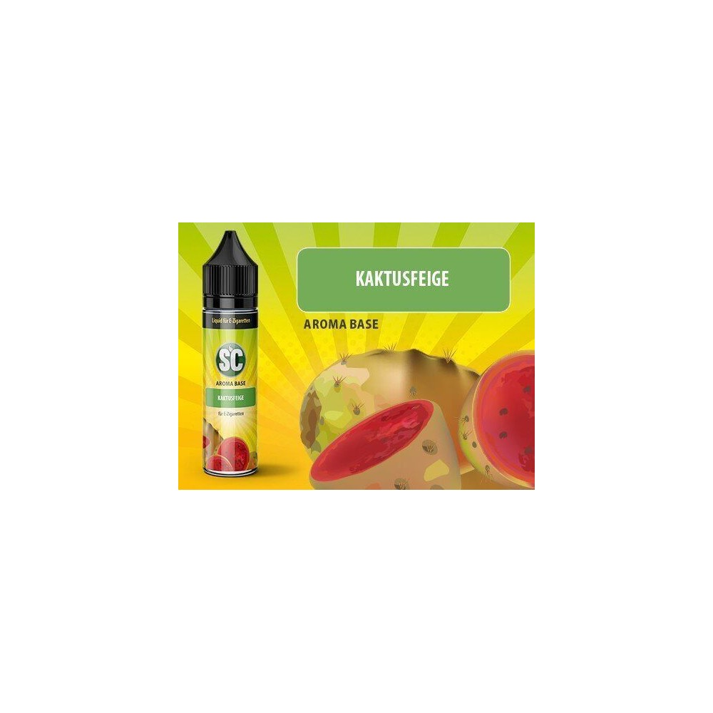 SC Vape Base - Kaktusfeige Liquid (50 ml)