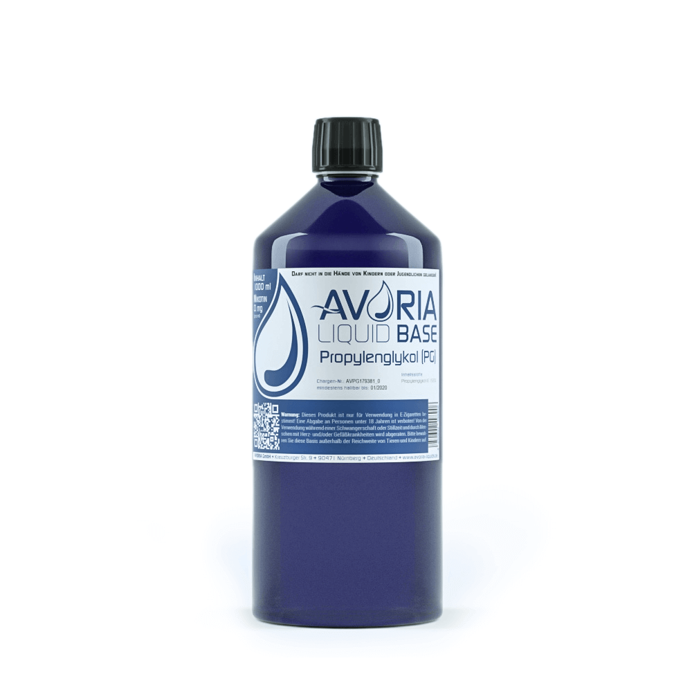 Avoria Deutsche Base 1000 ml Propylenglykol (PG)