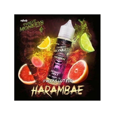 Twelve Monkeys E-Liquid - Harambae (50 ml)