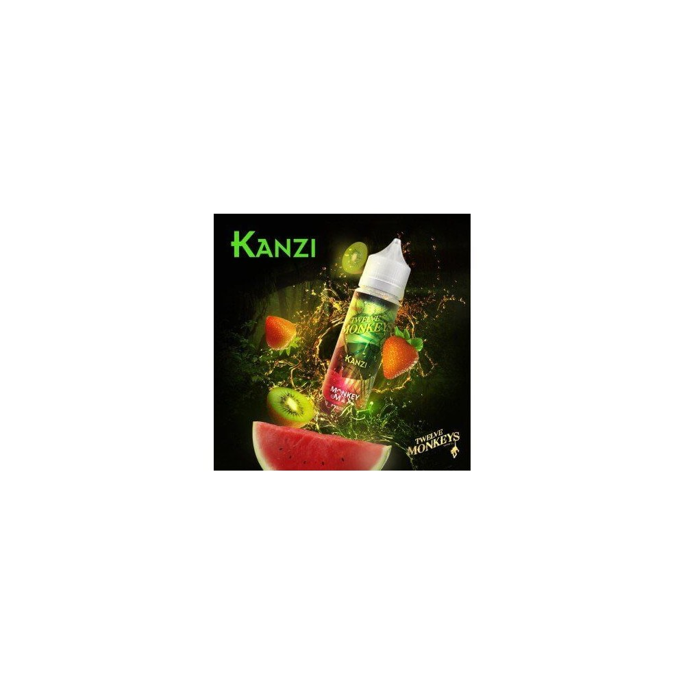 Twelve Monkeys E-Liquid - Kanzi (50 ml)