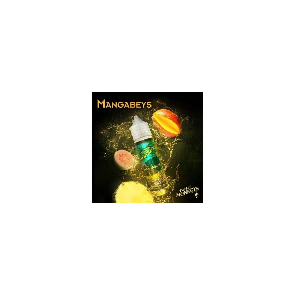 Twelve Monkeys E-Liquid - Mangabeys (50 ml)