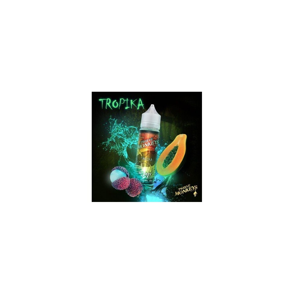 Twelve Monkeys E-Liquid - Tropika (50 ml)