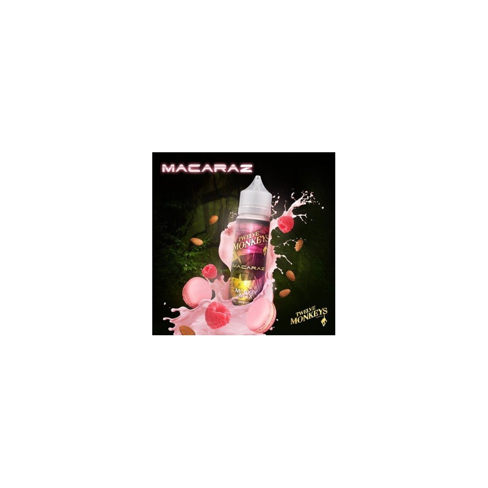 Twelve Monkeys E-Liquid - MacaRaz (50 ml)