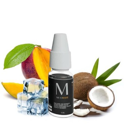 MUST HAVE Aroma M 10 ml (inkl. 120 ml Leerflasche)