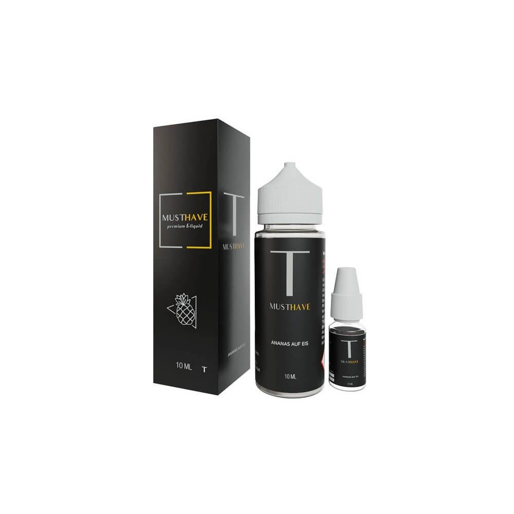 MUST HAVE Aroma T 10 ml (inkl. 120 ml Leerflasche)