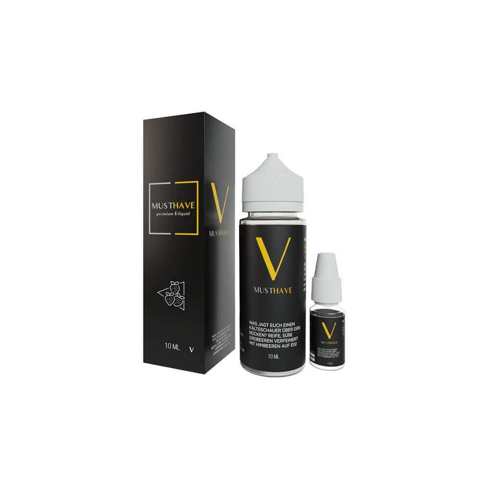 MUST HAVE Aroma V 10 ml (inkl. 120 ml Leerflasche)