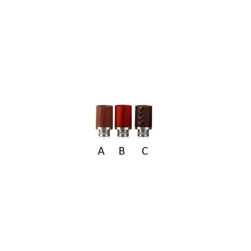 510 Wood Drip Tip Short