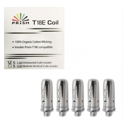 Innokin Endura T18E Coilhead 1,5 Ohm (5er-Pack)