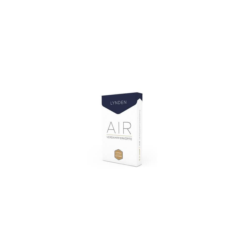 LYNDEN AIR Verdampferkopf 0,5 Ohm (4er-Pack)