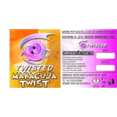 Twisted Vaping - Maracuja Twist Aroma (10 ml)