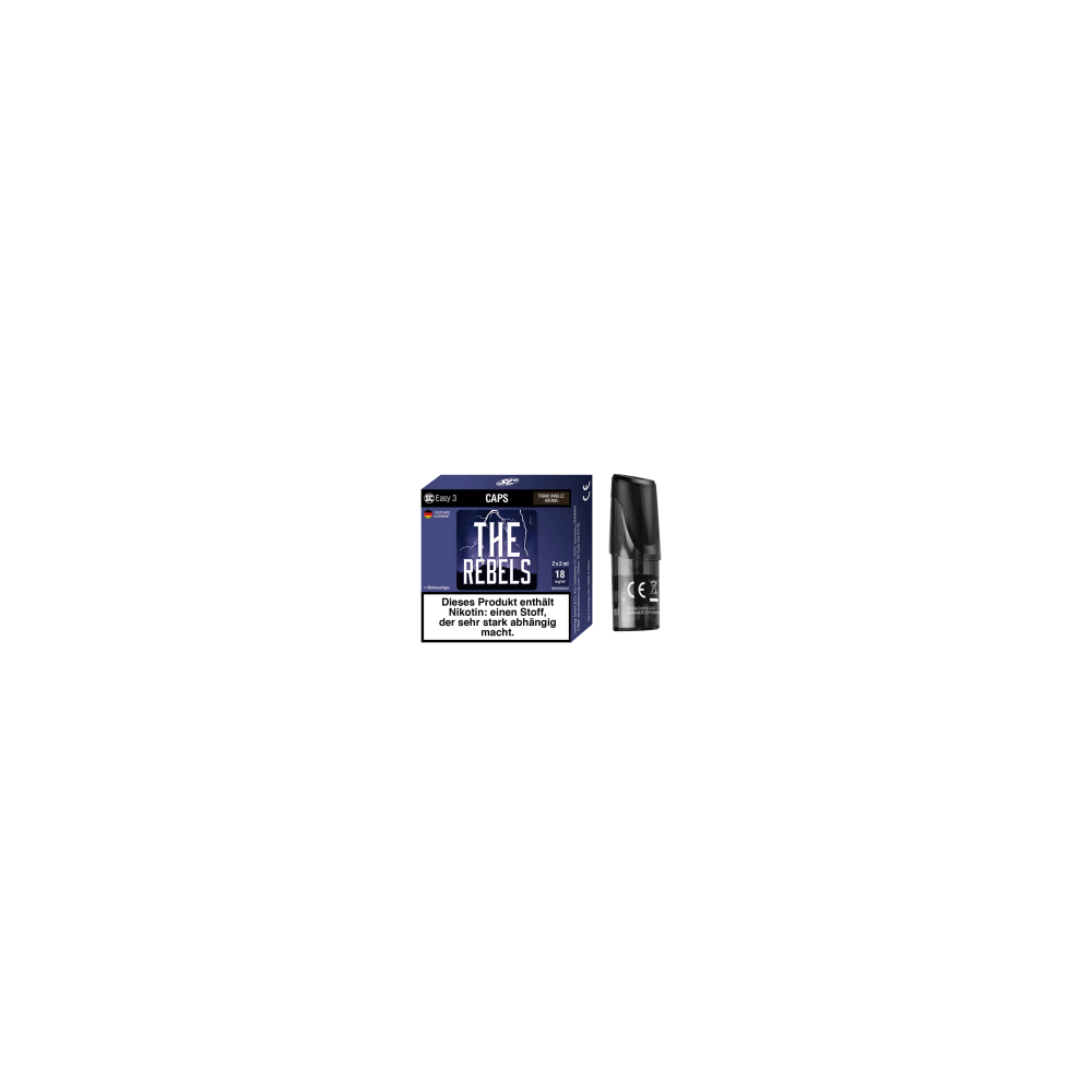 SC Easy 3 E-Liquid Pod - The Rebels (Tabak/Vanille) 2er-Pack