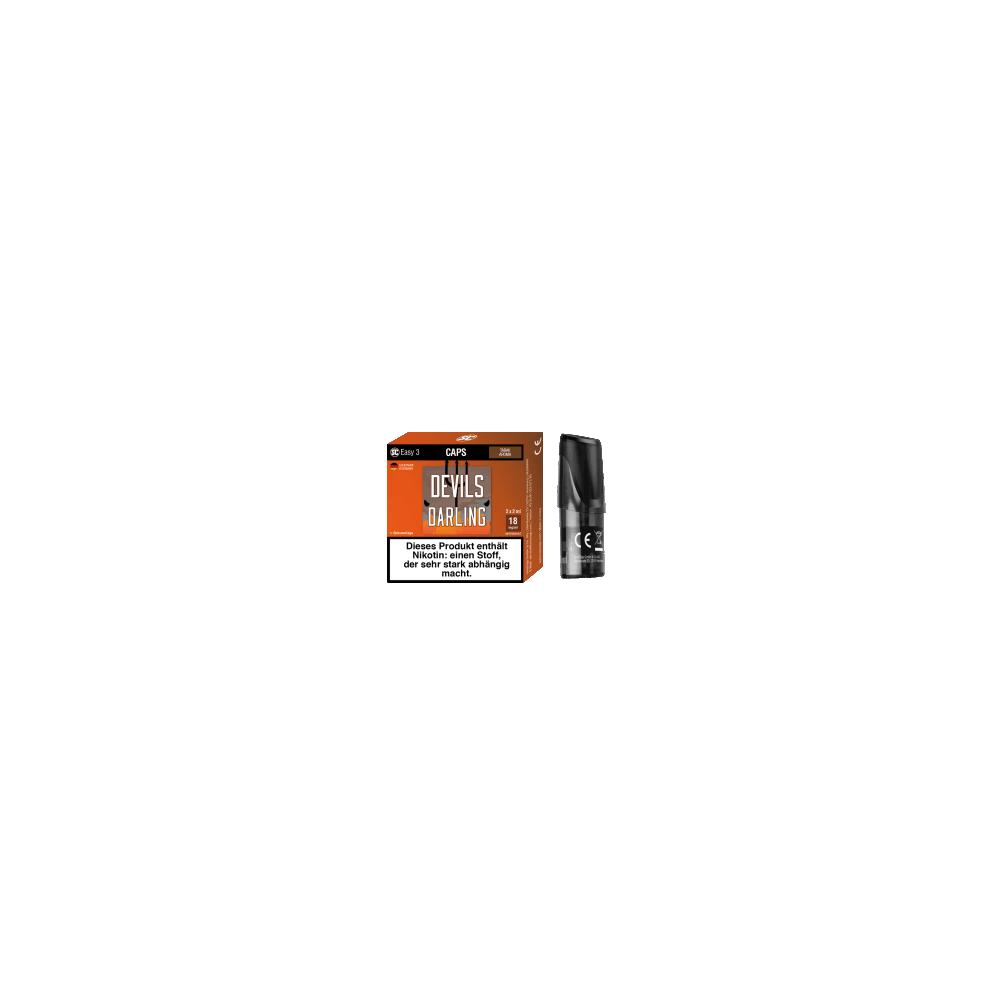 SC Easy 3 E-Liquid Pod - Devils Darling (dunkler Tabak) 2er-Pack