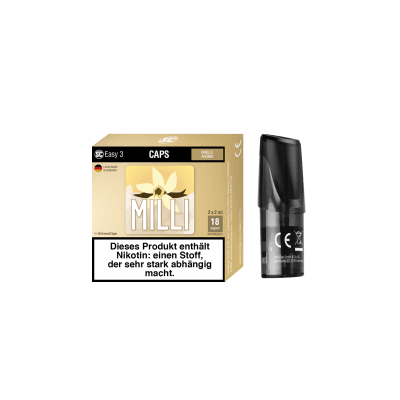 SC Easy 3 E-Liquid Pod - Milli (Vanille) 2er-Pack