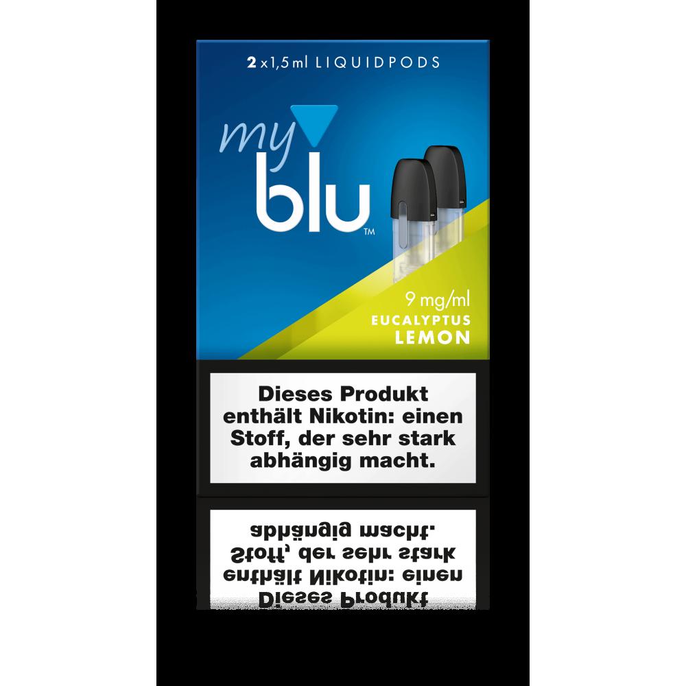 MyBlu (Von.ERL.) Liquidpod Eucalyptus Lemon (2er-Pack)